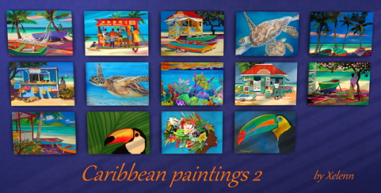 Caribbean art at Xelenn image 1494 Sims 4 Updates