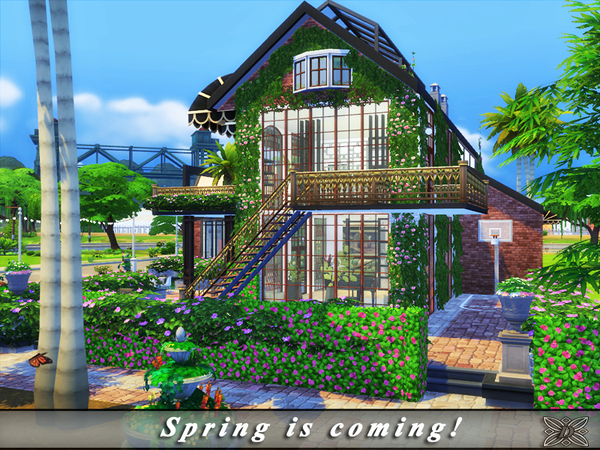 Spring is coming home by Danuta720 at TSR image 15 Sims 4 Updates