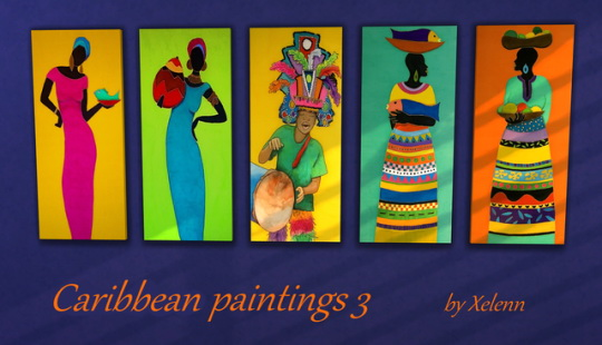 Caribbean art at Xelenn image 1504 Sims 4 Updates
