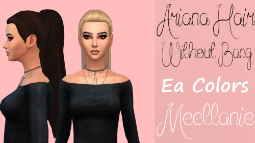 Ariana Without Bang Hair at Meellanie image 1506 Sims 4 Updates