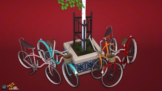 Childrens bicycle set: Decorative & Poses at In a bad Romance image 15115 670x377 Sims 4 Updates