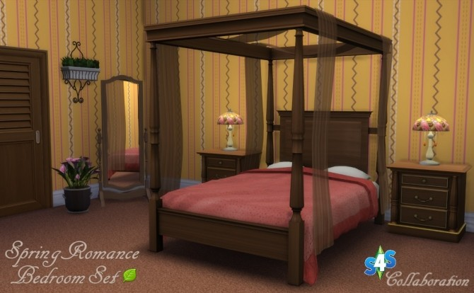 Spring Romance Bedroom Set Collaboration at Sims 4 Studio image 15116 670x414 Sims 4 Updates