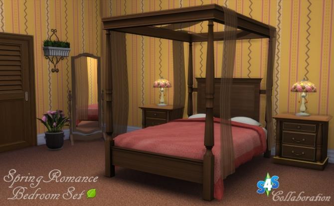 Spring Romance Bedroom Set Collaboration At Sims 4 Studio