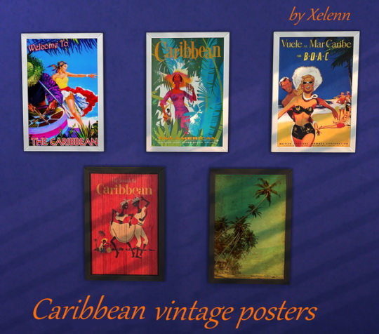 Caribbean art at Xelenn image 1518 Sims 4 Updates