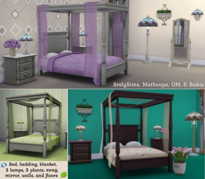 Spring Romance Bedroom Set Collaboration at Sims 4 Studio image 15214 670x586 Sims 4 Updates