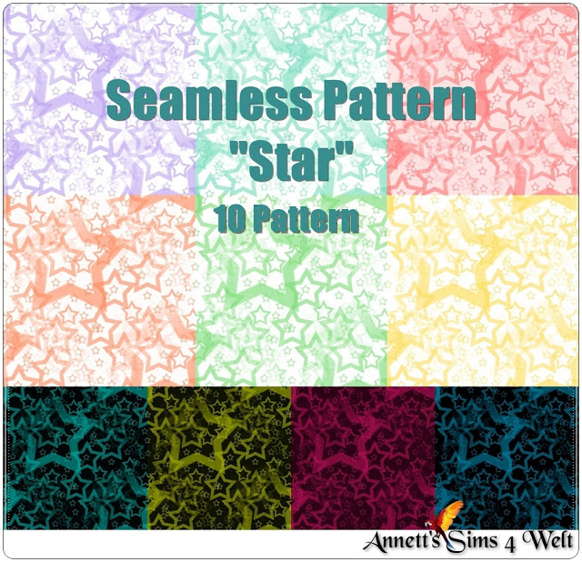 Star Seamless Pattern at Annett's Sims 4 Welt image 1522 Sims 4 Updates