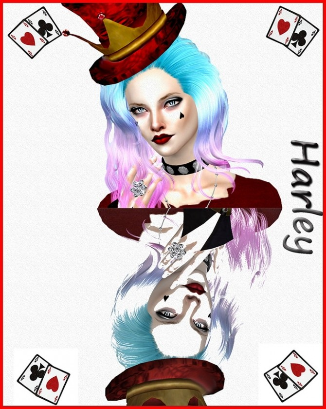 Harley Quinn By Mich Utopia At Sims 4 Passions 187 Sims 4