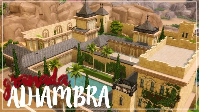 Alhambra de Granada palace at Akai Sims image 1556 670x377 Sims 4 Updates