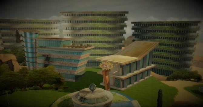 Sims 4 Default Murkland Casino Area at Budgie2budgie
