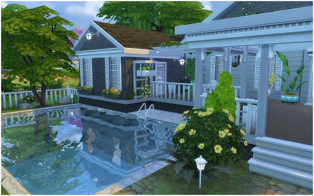 Sims 4 House 31 Ranch at Via Sims