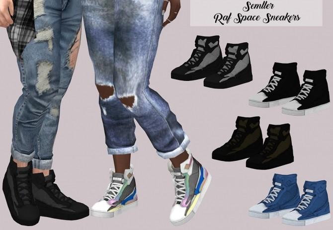 Sims 4 Semller Raf Space Sneakers at Lumy Sims