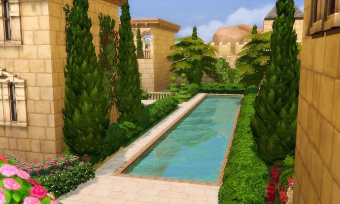 Alhambra de Granada palace at Akai Sims image 1596 670x401 Sims 4 Updates