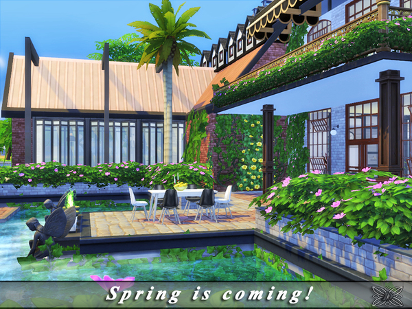 Spring is coming home by Danuta720 at TSR image 16 Sims 4 Updates