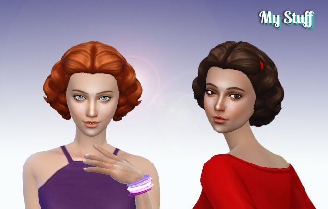 Lovely Curls Conversion at My Stuff » Sims 4 Updates