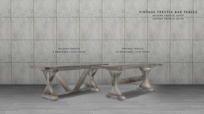 VINTAGE BAR DINING SET at Love9Souls image 16113 670x377 Sims 4 Updates