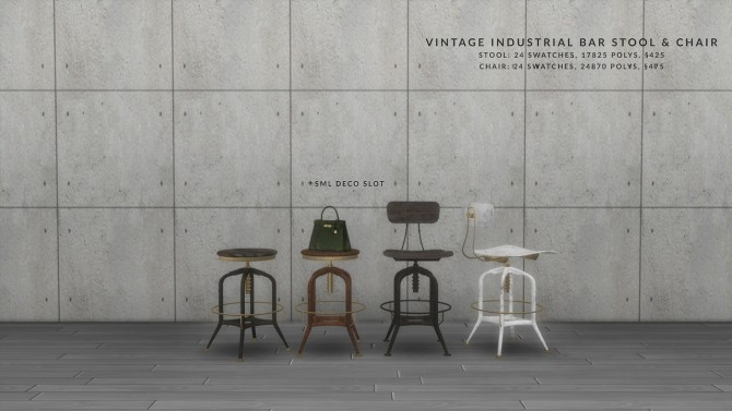 VINTAGE BAR DINING SET at Love9Souls image 16212 670x377 Sims 4 Updates