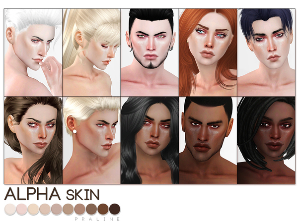 PS Alpha Skin by Pralinesims at TSR image 1628 Sims 4 Updates