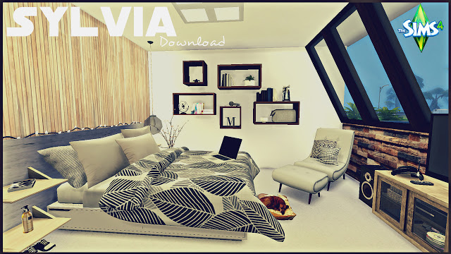 Sylvia bedroom by Rissy Rawr at Pandasht Productions image 1677 Sims 4 Updates