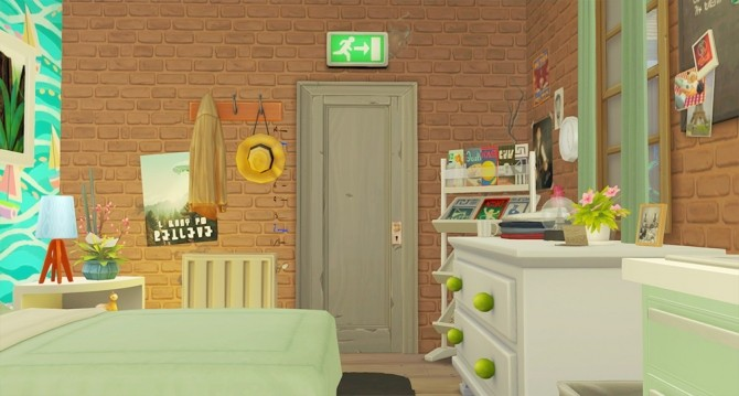 Sims 4 Single Living Home at Stefizzi