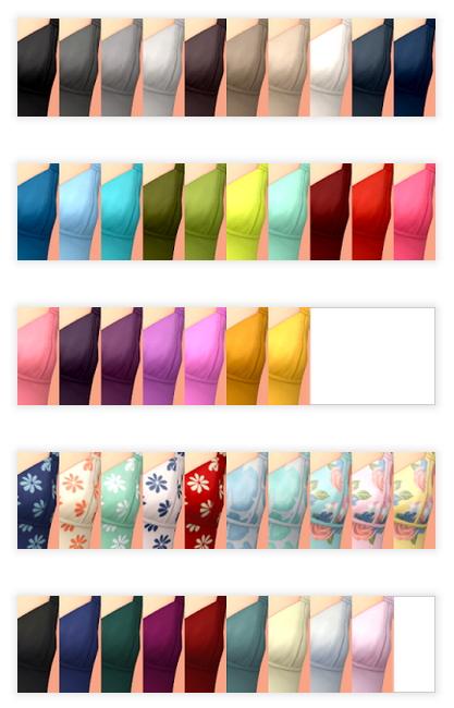 Virginia Crop Top at Tukete image 1692 Sims 4 Updates