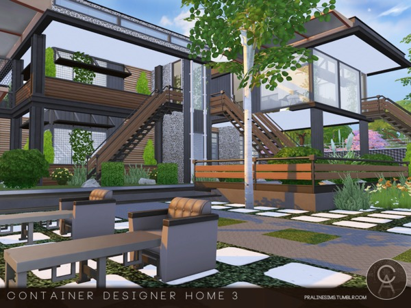 Superb Container Designer Home 3 By Pralinesims At TSR