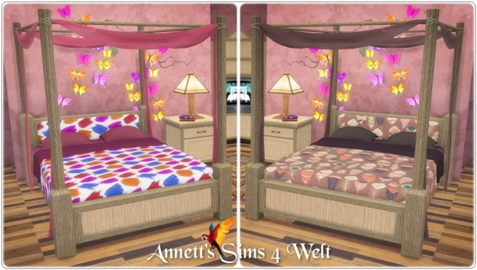 Hotel bedroom TS3 to TS4 Conversion at Annett's Sims 4 Welt image 17213 670x379 Sims 4 Updates
