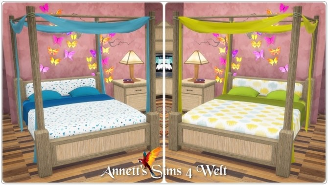 Hotel bedroom TS3 to TS4 Conversion at Annett's Sims 4 Welt image 17310 670x379 Sims 4 Updates