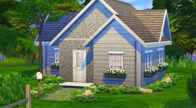 Meisiu S Base Game Starter Home Challenge At Ivo Sims