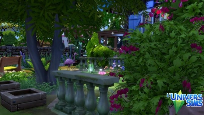 Sims 4 AUDE house by chipie cyrano at L'UniverSims
