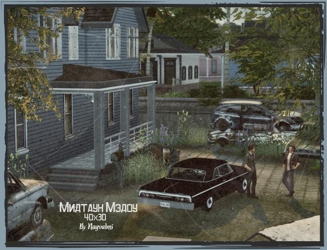 Sims 4 Midtown Meadow at Nagvalmi