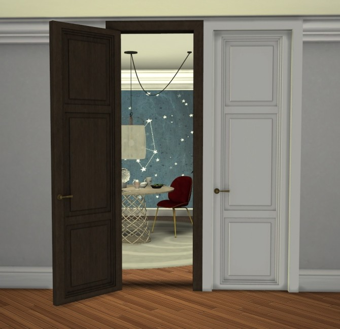PANEL DOORS at Minc7878 image 1795 670x648 Sims 4 Updates