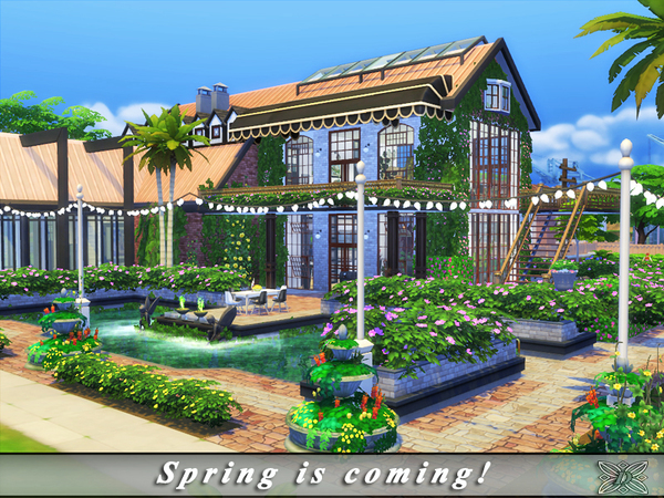 Spring is coming home by Danuta720 at TSR image 18 Sims 4 Updates