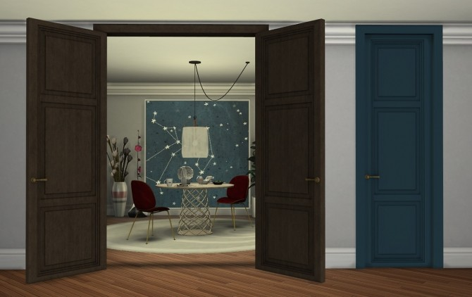PANEL DOORS at Minc7878 image 18112 670x422 Sims 4 Updates