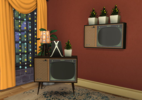 S3 to S4 BuffSumm 1950′s Livingroom TVs at ChiLLis Sims image 1884 Sims 4 Updates
