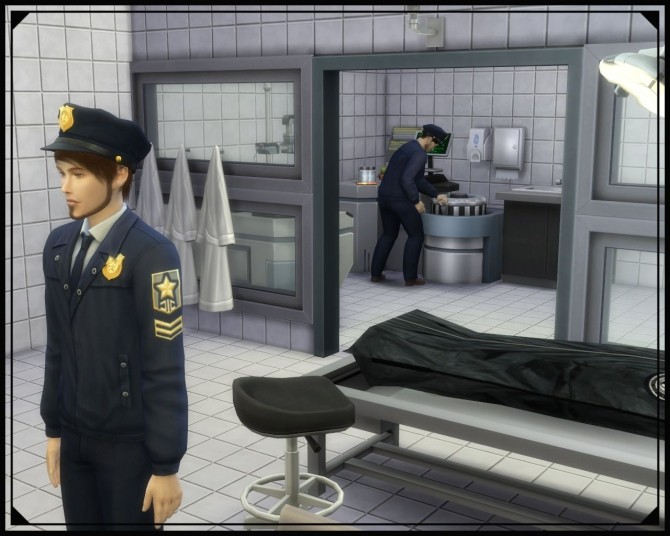 Willow Creek Police station at Nagvalmi image  Sims 4 Updates