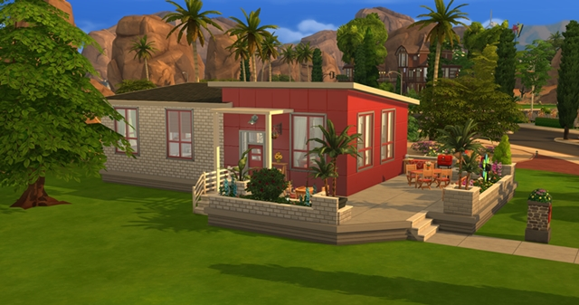 Little Brick house by Meryane at Beauty Sims image 19111 Sims 4 Updates