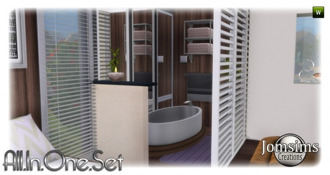 All in one corner set at Jomsims Creations image 19210 670x355 Sims 4 Updates