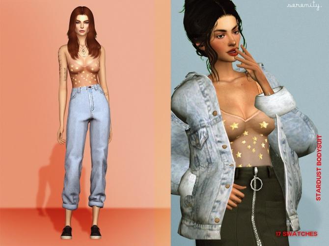 Stardust Bodysuit At Serenity 187 Sims 4 Updates