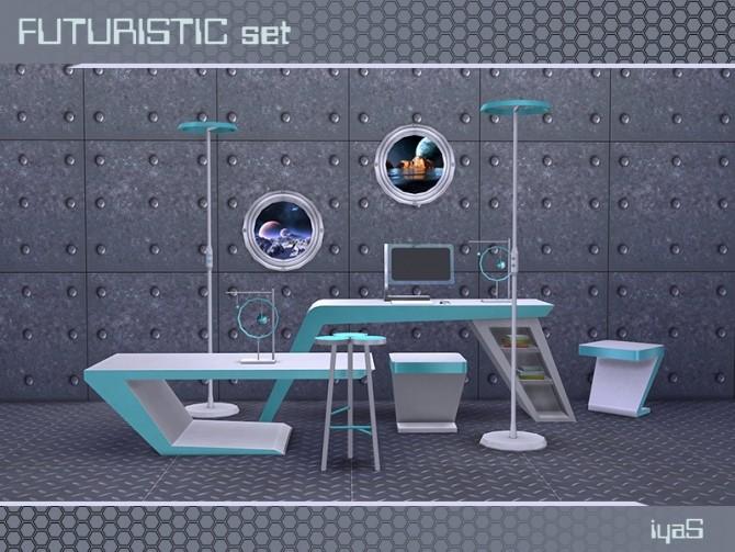 Futuristic set at Soloriya image 1945 670x503 Sims 4 Updates