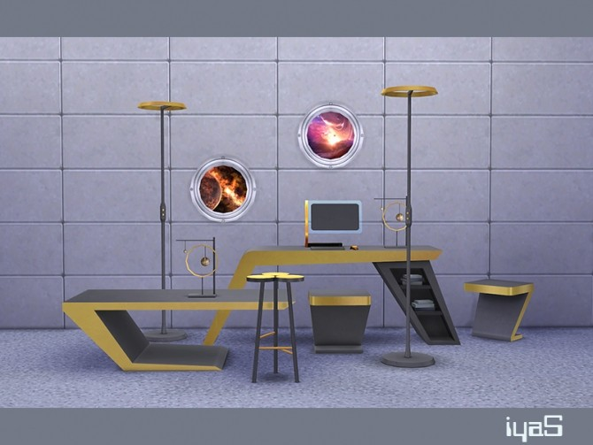 Futuristic set at Soloriya image 19541 670x503 Sims 4 Updates