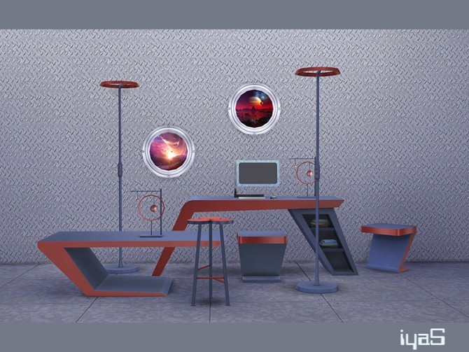 Futuristic set at Soloriya image 1965 670x503 Sims 4 Updates