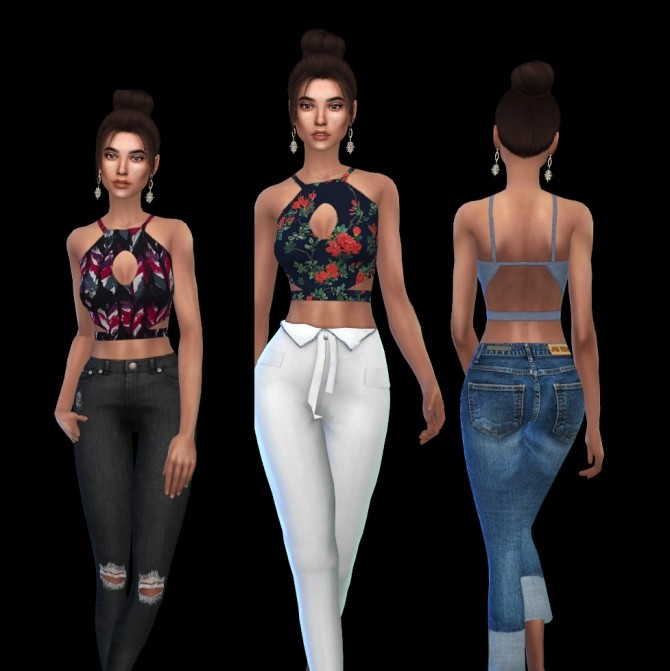 Shapes Top at Leo Sims image 1978 670x671 Sims 4 Updates
