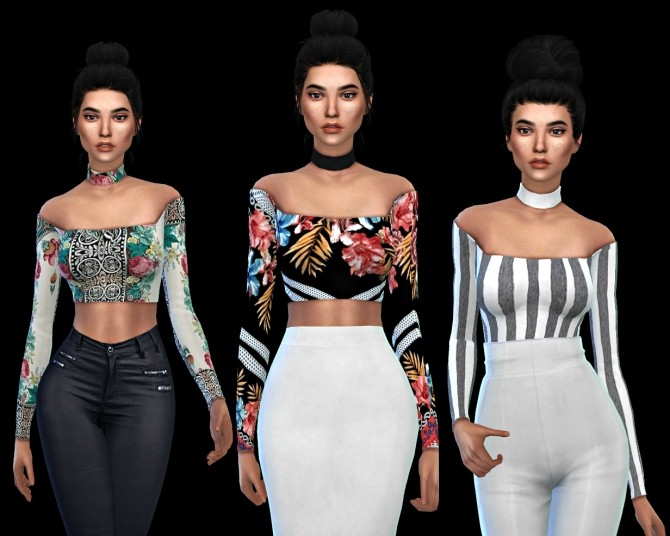 Anna Top at Leo Sims image 20210 670x536 Sims 4 Updates