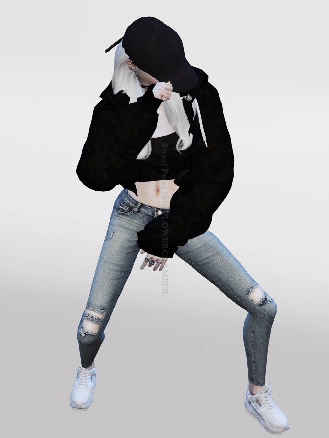 Swag Poses Set At Flower Chamber 187 Sims 4 Updates