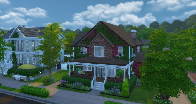 Small family house at ChiLLis Sims image 2134 670x355 Sims 4 Updates