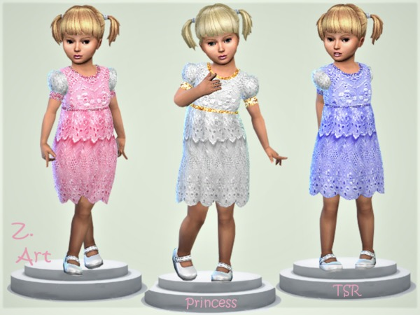 BabeZ 16 lace dress by Zuckerschnute20 at TSR image 2140 Sims 4 Updates