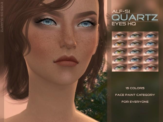 Sims 4 Eyes 09 Quartz HQ at Alf si