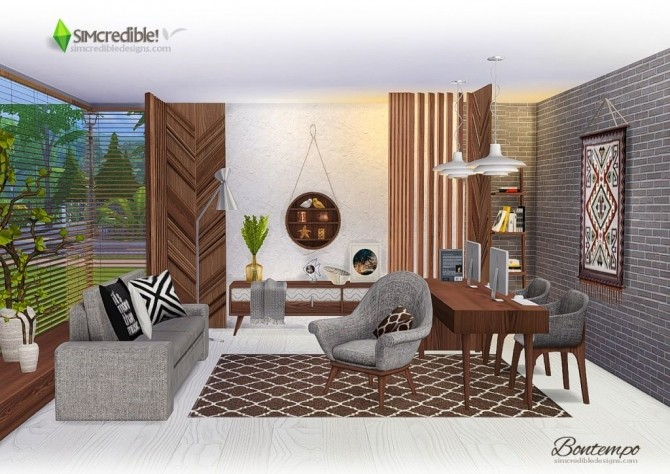 Bontempo livingroom at SIMcredible! Designs 4 image 22110 670x474 Sims 4 Updates