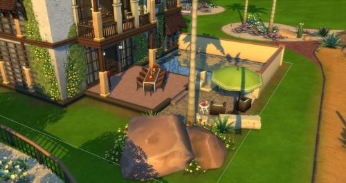 Casa Granada Reno at ChiLLis Sims image 2228 Sims 4 Updates