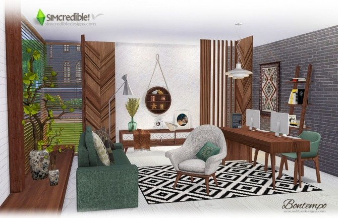 Bontempo livingroom at SIMcredible! Designs 4 image 2234 670x432 Sims 4 Updates